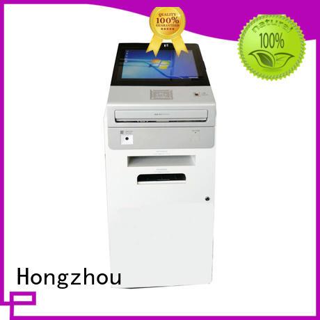 Hongzhou self service point of information kiosk printer in bar