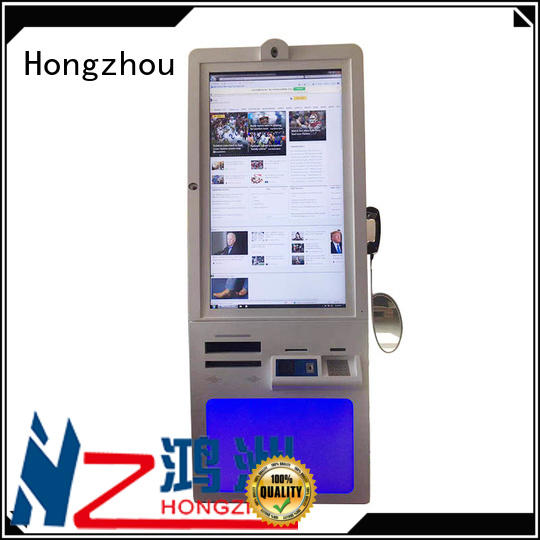 Hongzhou professional patient self check in kiosk for line up in hospital
